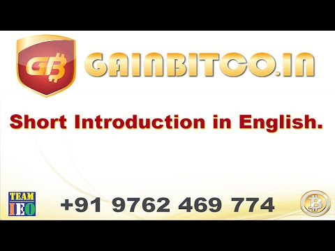 Gainbitcoin Short English Intoduction
