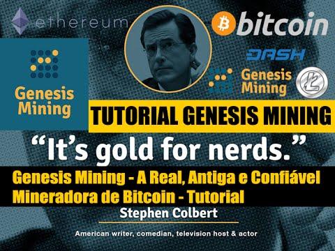 Genesis Mining - A Real, Antiga e Confiável Mineradora de Bitcoin - Tutorial Genesis MIning
