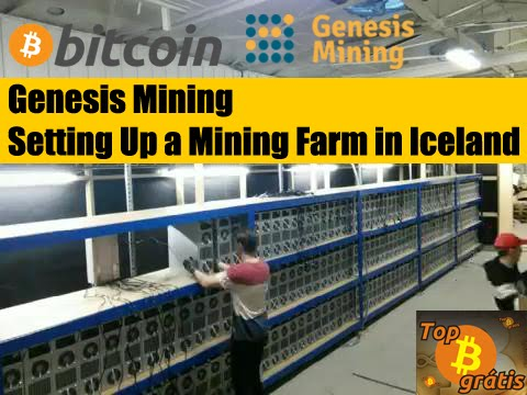 Genesis Mining - Setting Up a Mining Farm in Iceland