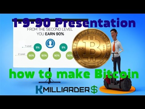 1-9-90 Presentation, how to make Bitcoin, everything Bitcoin