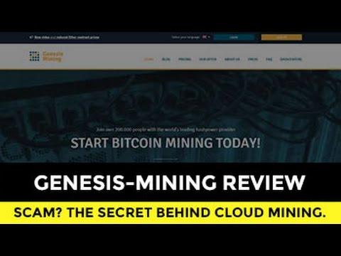 REAL GENESIS-MINING REVIEW - Secret Behind Mining Cloud Scam