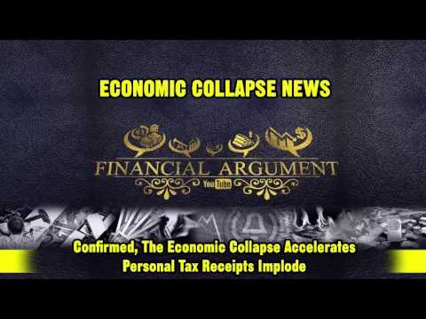 CONFIRMED, The ECONOMIC COLLAPSE Accelerates, Personal Tax Receipts Implode