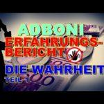 Adboni Betrug Scam Auszahlung NACHWEIS Bitcoin SEPA Banküberweisung