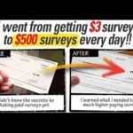Take Surveys For Cash ! Make Money Online !
