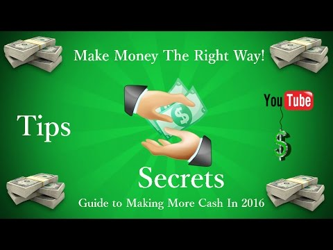 How to Make More Money Online Fast! 5-10k/month 2016