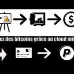Gagnez des bitcoins sans rien faire grâce au cloud mining !