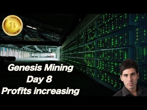 Genesis Mining Day 8 Bitcoin 2016  Ethereum Mining Review Tutorial with Sean Logan
