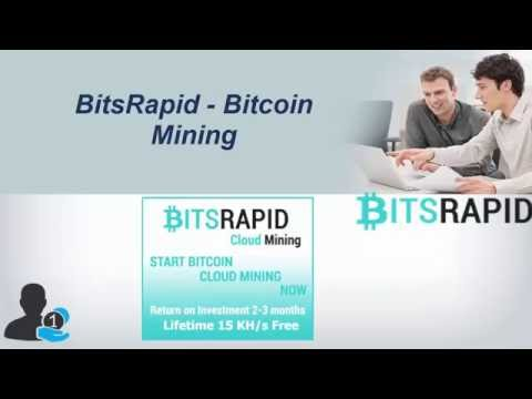 BitsRapid How it Works Earn 1000 USD Per Week Cloud Mining Comp