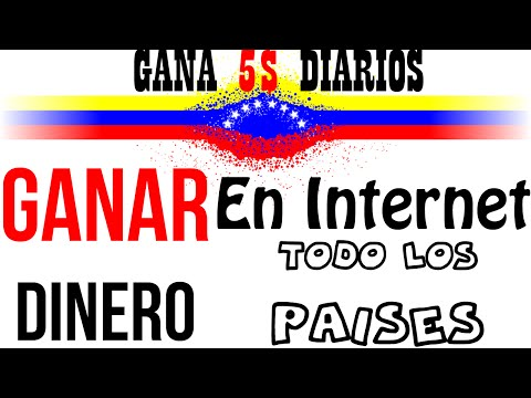 Como Ganar Dinero por Internet en Venezuela y en Otros Paises (Money Venezuela) - Nueva Forma - 2016