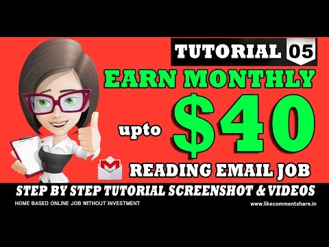 How to Make Money Online with Youromail Reading Email Job Without investment Tamil Tutorials Part-5