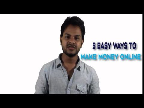 5 easy ways to make money online 2016