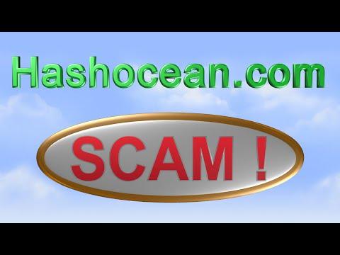 Hashocean.com SCAM !