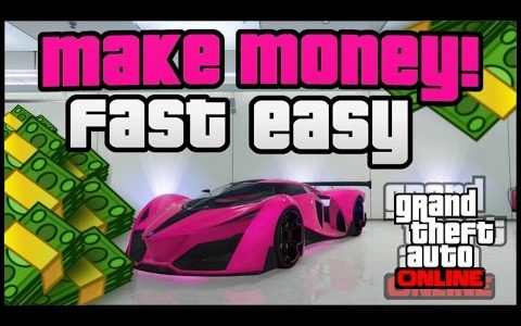 "GTA 5 ONLINE MONEY: How To Get MONEY FAST! ""GTA 5 How To Make Money"" (GTA 5 Money Method 1.34)"