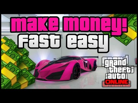 GTA 5 ONLINE MONEY: How To Get MONEY FAST! ''GTA 5 How To Make Money'' (GTA 5 Money Method 1.34)