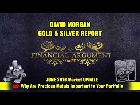 DAVID MORGAN   MARKET UPDATE & WHY ARE PRECIOUS METALS IMPORTANT TO YOUR PORTFOLIO JUNE 2016