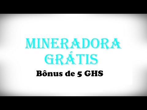 Mineradora - 5 GHS de Bônus