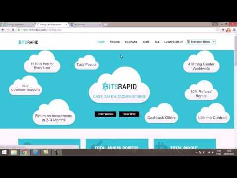 Análise Cloud Mining's   BitsRapid e BiteMiner, SCAM؟