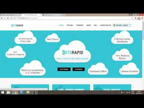 bitcoin  analise cloud minings bitsrapid e biteminer scam
