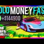 GTA 5 SOLO MONEY 1.34/1.27: SOLO MONEY FAST 1.34 – MAKE MONEY EASY – GTA 5 Online (GTA 5 SOLO MONEY)