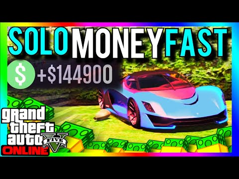 GTA 5 SOLO MONEY 1.34/1.27: SOLO MONEY FAST 1.34 - MAKE MONEY EASY - GTA 5 Online (GTA 5 SOLO MONEY)