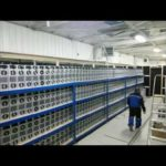 Bitcoin Mining Time Lapse Genesis Mining Farm, Bitcoin Miners