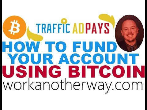Traffic Ad Pays Review Funding with Bitcoin Coinbase TrafficAdPays Tutorial with Paul Graue No Scam