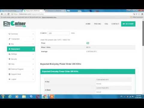 biteminer cloud mining bitcoin from farm