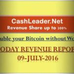 cash leader bitcoin revenue report