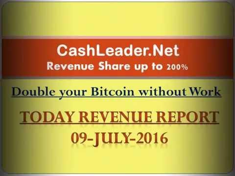 cash leader bitcoin revenue report