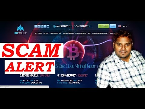 Bitcoin Mining SCAM ALERT Bitminister