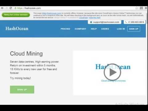 Bitcoin Scam Risk Warning – HashOcean