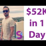 How To Make Money Online (See How I Made 52k in a Day)