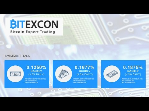 BITEXCON - PROFITABLE SOLUTIONS FOR EVERYONE mining bitcoin hyip bitexcon.com