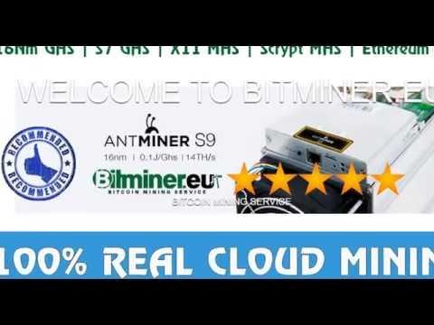BITMINER - 100% REAL CLOUD MINING 2016 | X11 | SCRIPT | BTC | ETH