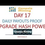 Genesis Mining Day 17 and Daily Payouts Proof