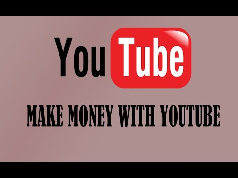 Make Money With Youtube - Part 2 - Youtube Channel + Enable Monitization - Make Money Online
