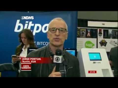 Matéria Globo News (Bitcoin o Dinheiro do Futuro)