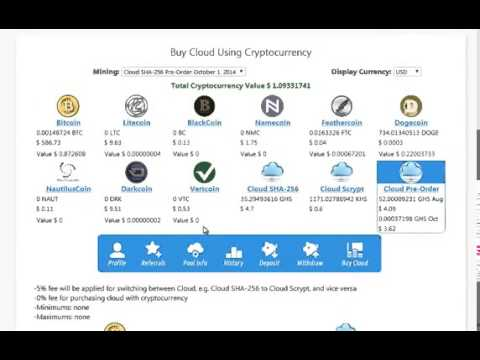 EOBOT com   Cryptocurrency mining bot   how you can buy a Cloud Cloud Mining