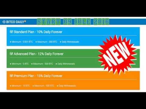 BITCODAILY - 10% , 12% , 15% Daily Forever! | earn 1 bitcoin pr day | to 15Bit.biz