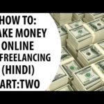 [Part-2] How to: Make money online via freelancing(hindi/हिंदी)
