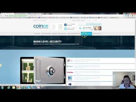 Trust site investment Bitcoin 2016-2017 With Coince - coince review 2016 - coince investissement