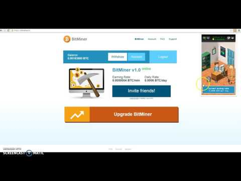 Bitminer-Bit coin mining-Mine bitcoins for free