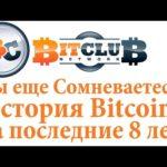 #BitClub Network Scam ?Вы еще Сомневаетесь? История #Bitcoin за последние 8 лет!