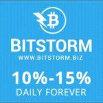 Bitstorm  Site de Investimento Bitcoin  10% Ao Dia #BitcoinBrasil