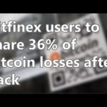 Bitfinex users to share 36% of bitcoin losses after hack | Short News