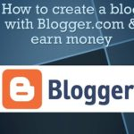 How to Start a Blog & Make Money Online bangla tutorial 2016- Free blogging on blogger.com