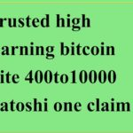 how to make money bitcoin best bitcoin sites 400 to 10000satoshi every claim. high eaning site hindi