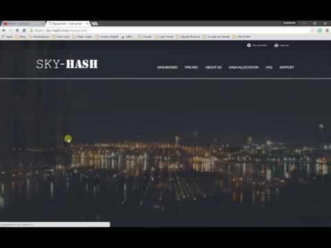 sky-hash  bitcoin cloud mining