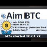 earn bitcoin 0.12%/hours NOT SCAM with aimbtc | đầu tư kiếm tiền 0.12%/giờ với aimbtc l Zcoffee
