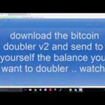 """bitcoin CPU mining doubler """"bitcoin doubler v2"""""""